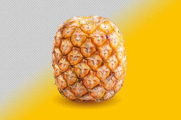 알파 배경에 isloated 신선한 익은 파인애플 과일