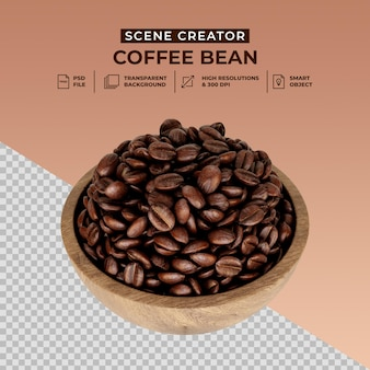 신선한 볶은 커피 콩 장면 제작자