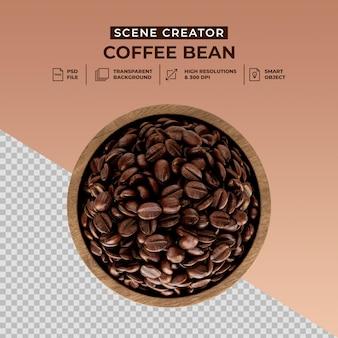 Создатель сцены свежеобжаренных кофейных зерен