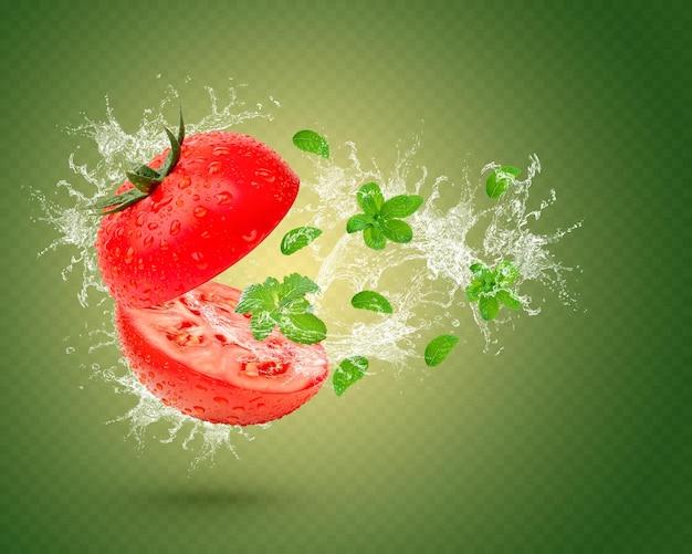 フレッシュトマトは分離されました