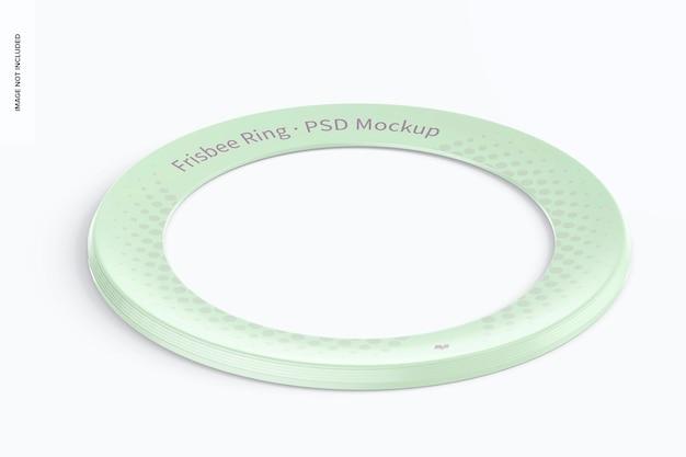 Frisbee ring mockup