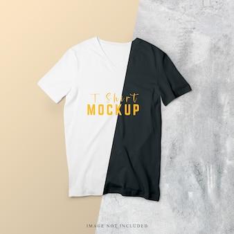 Front side of t-shirt mockup design