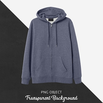 Front view of basic hoodie mockup