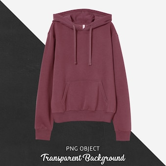 Front view of basic unisex hoodie mockup
