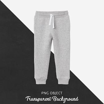 Front view of children sweatpants mockup