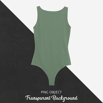 기본 녹색 bodysuit 모형의 전면보기