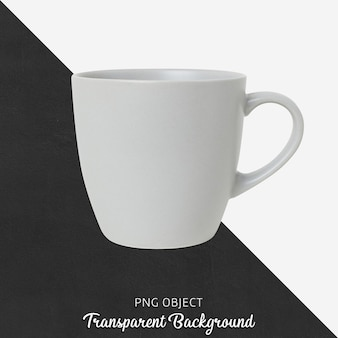 基本的なマグカップのモックアップの正面図