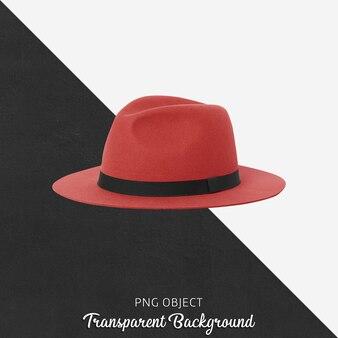 빨간 모자 모형의 전면보기