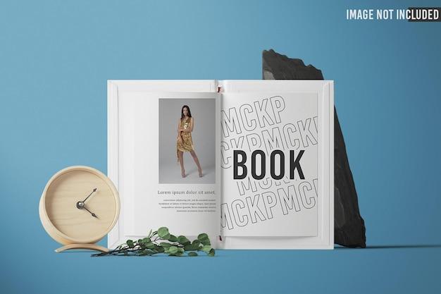 전면보기 열린 책 모형 디자인