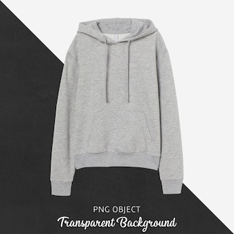 Front view of sweatshirt or hoodie mockup