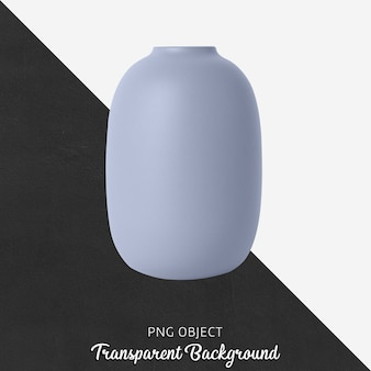 Front view of vase mockup