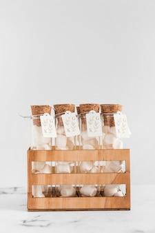 モックアップ付き正面結婚式文房具