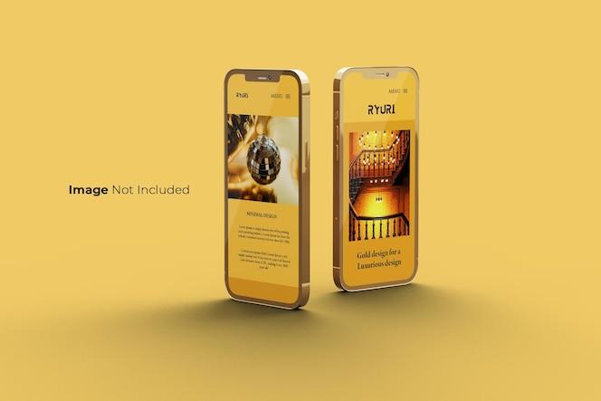 全屏金智能手机样机设计
