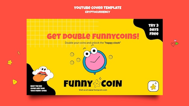 Funny coin cryptocurrency youtube cover