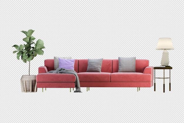 Мебель стул диван дизайн изолированные различные отсечения путь