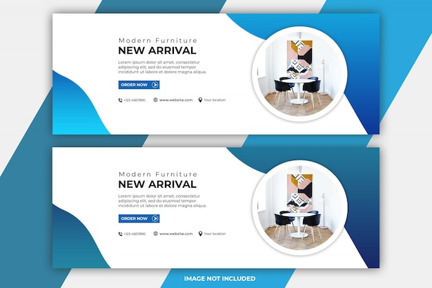 Furniture facebook cover templates