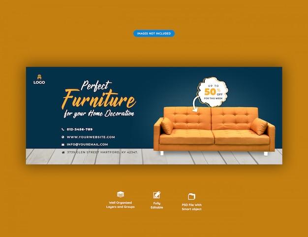 Furniture sale facebook banner