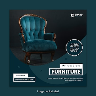 Furniture for sale social media post