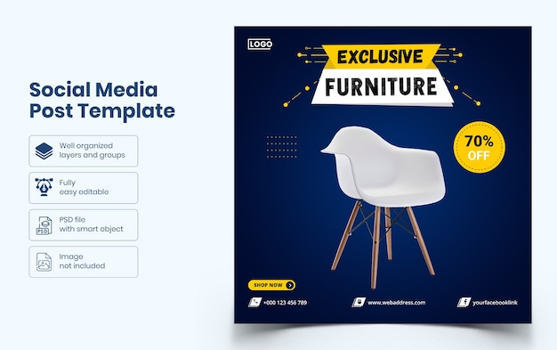Мебель для социальных сетей
