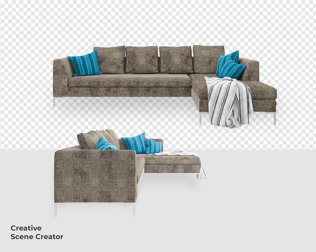 Отделка мебельного дивана в современном стиле