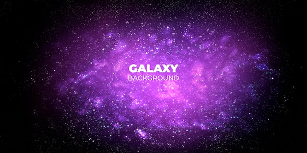 Galaxy abstract background