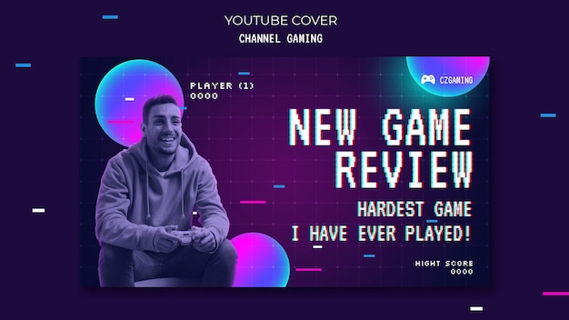 Game streaming youtube cover