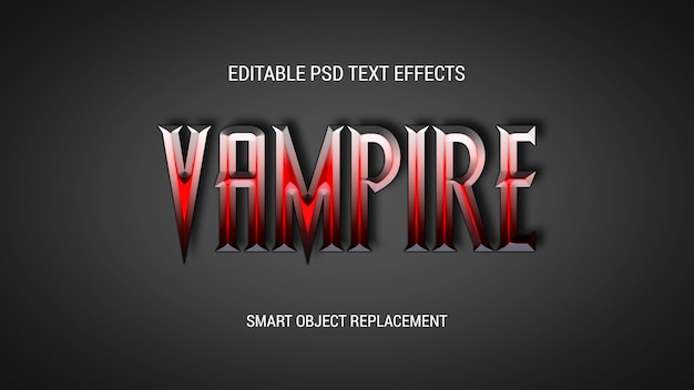 Game title editable text effects