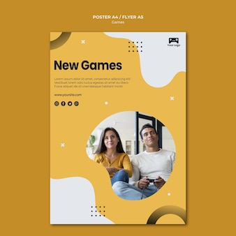 Games poster theme