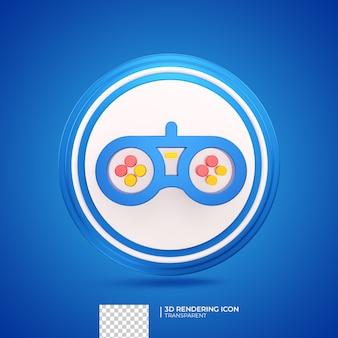 게임 3d 렌더링 아이콘 그림