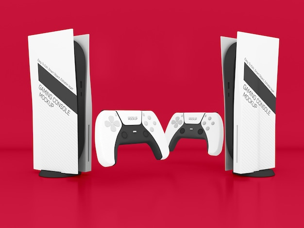 Gaming console mockup