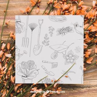紙の庭のコンセプト