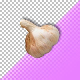 Garlic cloves on transparent background. psd