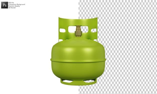 Газовый баллон иллюстрации 3d дизайн
