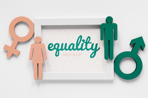 남녀 평등 개념 모형