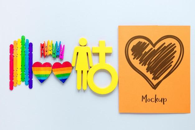 Simbolo di genere per il giorno dell'orgoglio