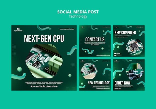 Next generation cpu instagram posts