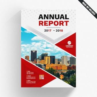 Geometric annual report template