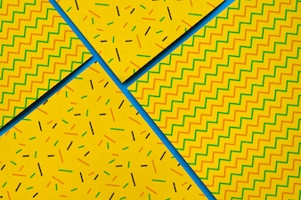 Geometric cover mockup collectio