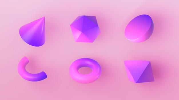 3d 렌더링의 기하학적 수치