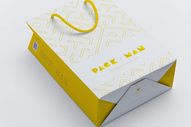 Gift bag mock up design