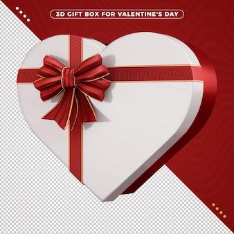 バレンタインデーのギフトボックス