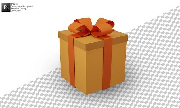 선물 상자 그림 3d 디자인