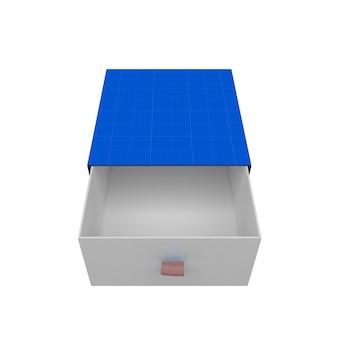 Подарочная коробка макет