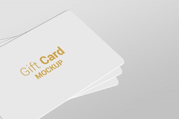 Gift card mock-up