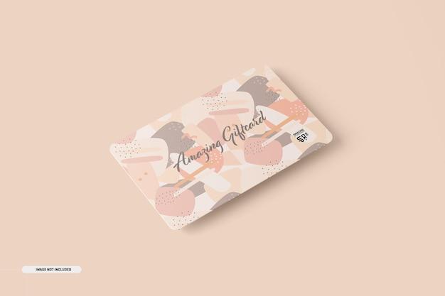 기프트 카드 모형
