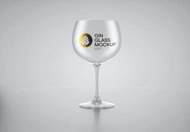 Gin glass mockup