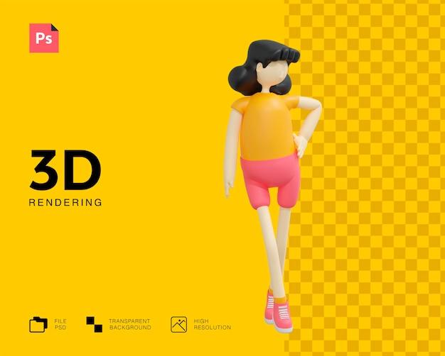 女の子のキャラクターデザイン