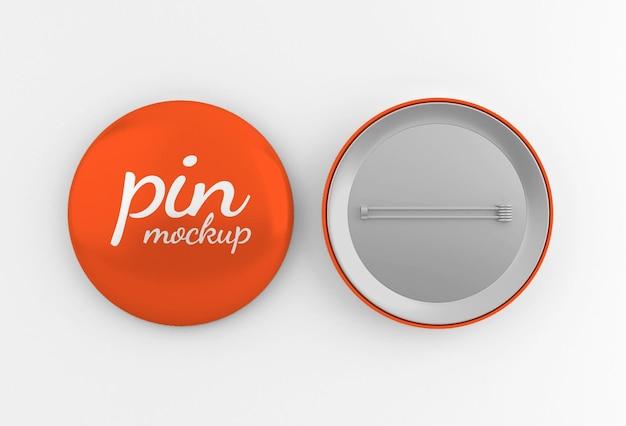 Глянцевый округлый значок или макет кнопки