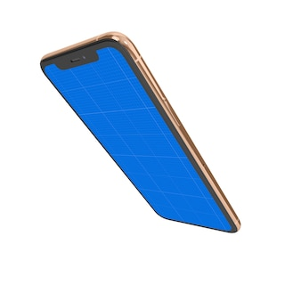 Gold & dark мобильный макет