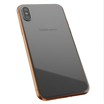 Gold & grey мобильный макет